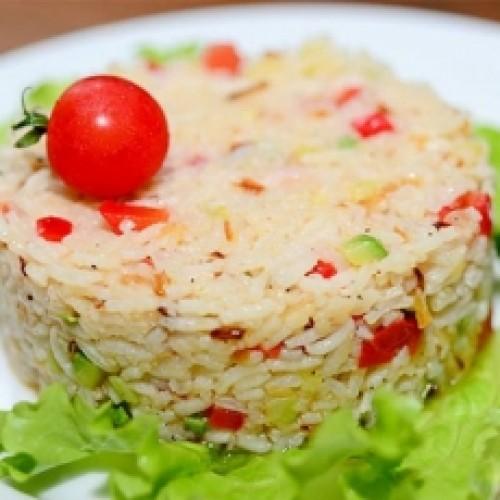 Рис с перцем и маслам
