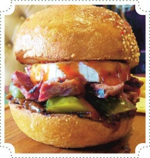 Бургер «Пожарная часть»