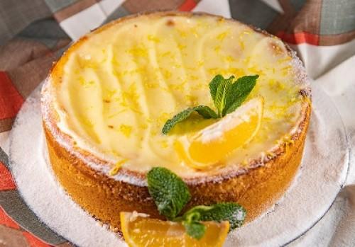 Чизкейк с лимонным конфитюром