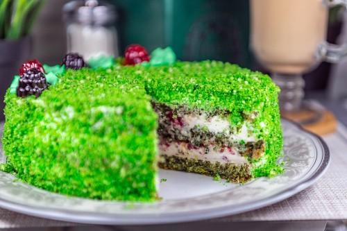 Торт Изумрудный