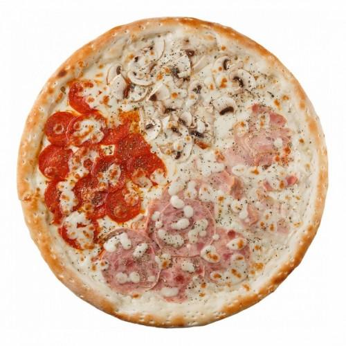 Пицца Пати-микс на грибном соусе 42см