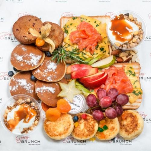 Бокс Завтрак Европейский