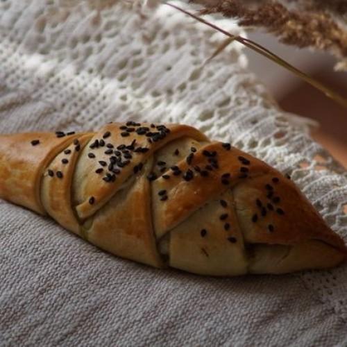 Пирог с брокколи, шпинатом и сыром