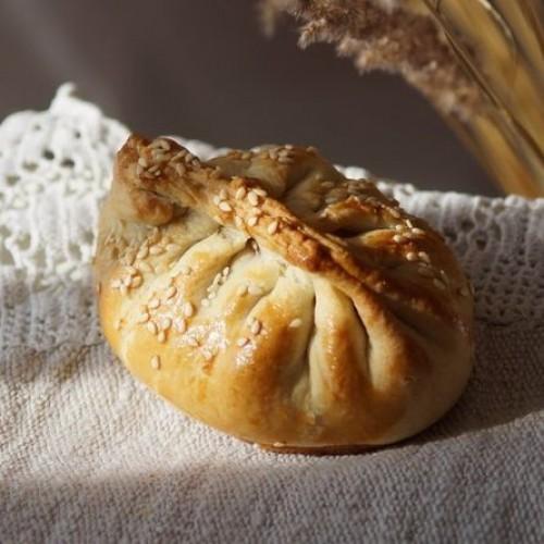 Пирог с ежевикой и смородиной