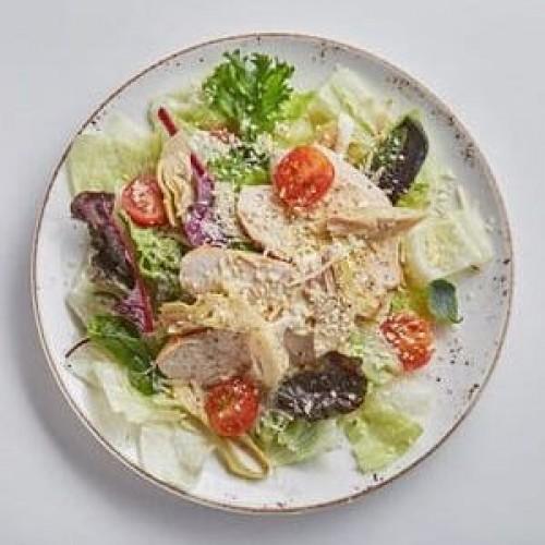 Салат с цыпленком