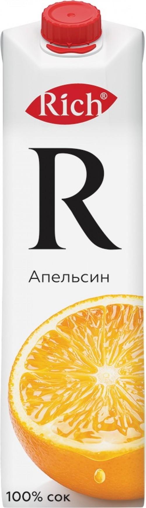 Rich апельсиновый сок 1л