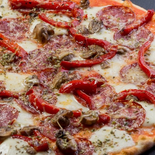 Пицца Калабрезе 24см