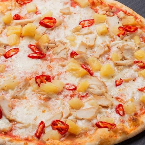 Пицца Гавайская с цыпленком 24см