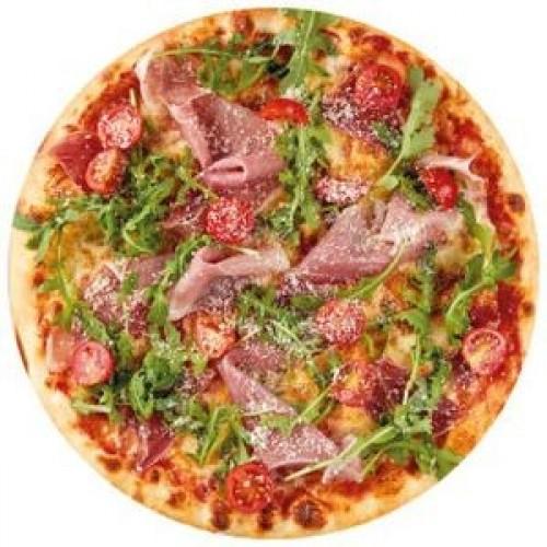 Пицца с прошутто и рукколой 21см