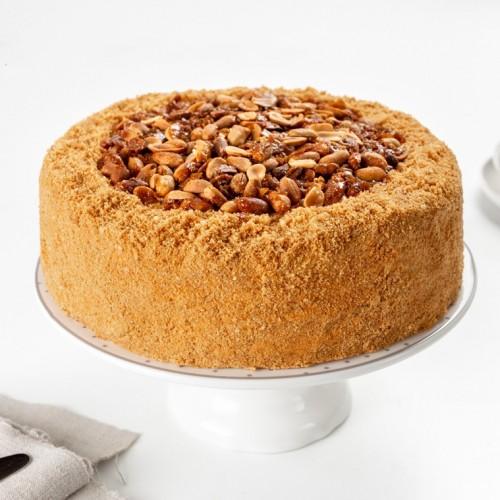 Торт Коровка арахисовая