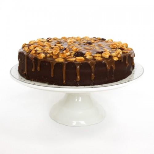 Десерт Ореховый с карамелью