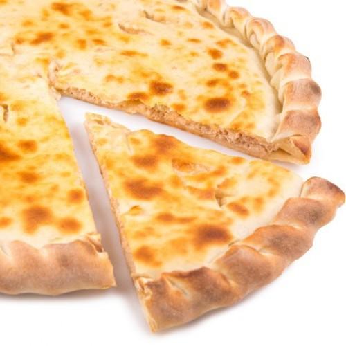 Осетинский Пирог Семга с сыром Фета и грибами (1200г)