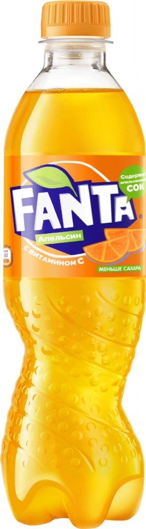 Фанта Апельсин 0.5л